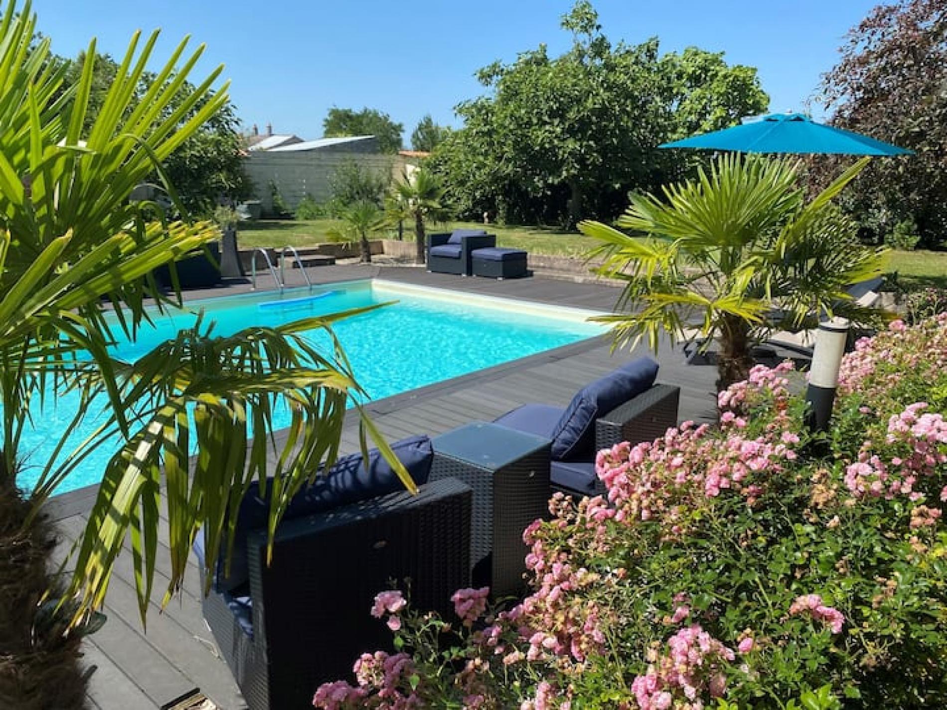 Maison de vacances avec piscine chauffée